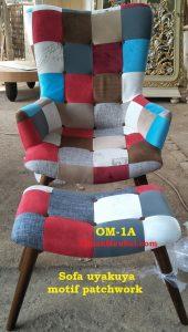 OM-1A Sofa uyakuya Mebel Jepara