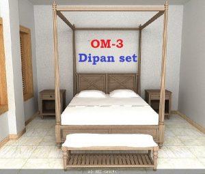 OM-3 Dipan set Mebel Jati Jepara Terbaru